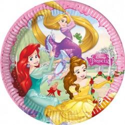 Prinsessen borden 8 stuks