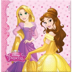 Prinsessen Servetten 20 stuks