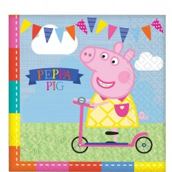 Peppa Big Feest Servetten
