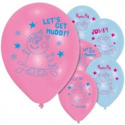 Peppa Big Ballonnen - 6 stuks
