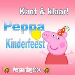 Peppa Big Kinderfeest!
