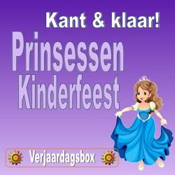Prinsessen Kinderfeest! 8 kids