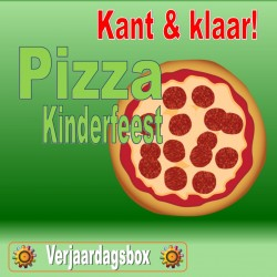 Pizza Kinderfeest!