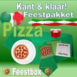 Pizza Feestversiering