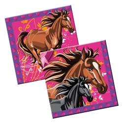 Paarden Feest Servetten