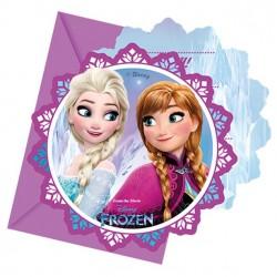 Frozen II Feest Uitnodigingen