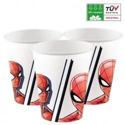 Spiderman Bekers - 8 stuks