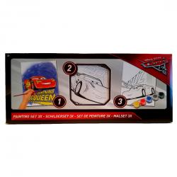 Disney Cars 3x schilderset