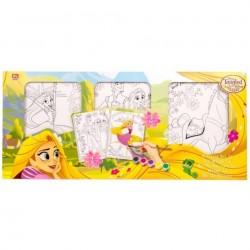 Disney Rapunzel 3x schilderset