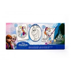 Disney Frozen 3x schilderset