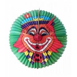 Jumbo lampion met clown 60cm