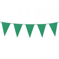 Vlaggenlijn groen 10 meter...