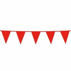 Vlaggenlijn rood 10 meter...