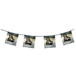 Piratenschip vlaggenlijn 4,5m