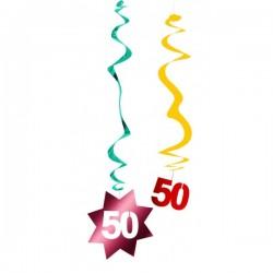 50e verjaardag  spiraal...