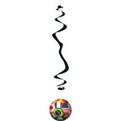 Voetbal wereldbeker Spiraal...