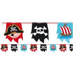 Piraten Feest Vlaggenlijn